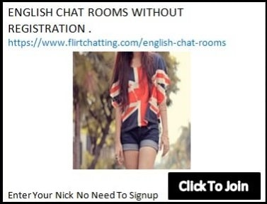 english chat rooms