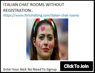 italian chat rooms