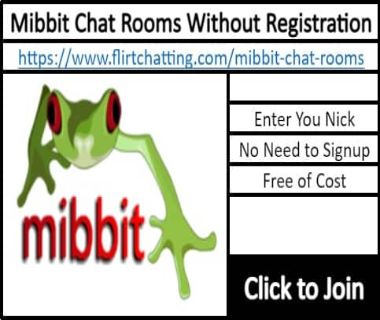 Mibbit Chat Room